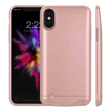 New Power Bank Case Cover for iphoneX iPhone X External Portable Backup Battery Charger Rechargeable Powerbank Phone Cases