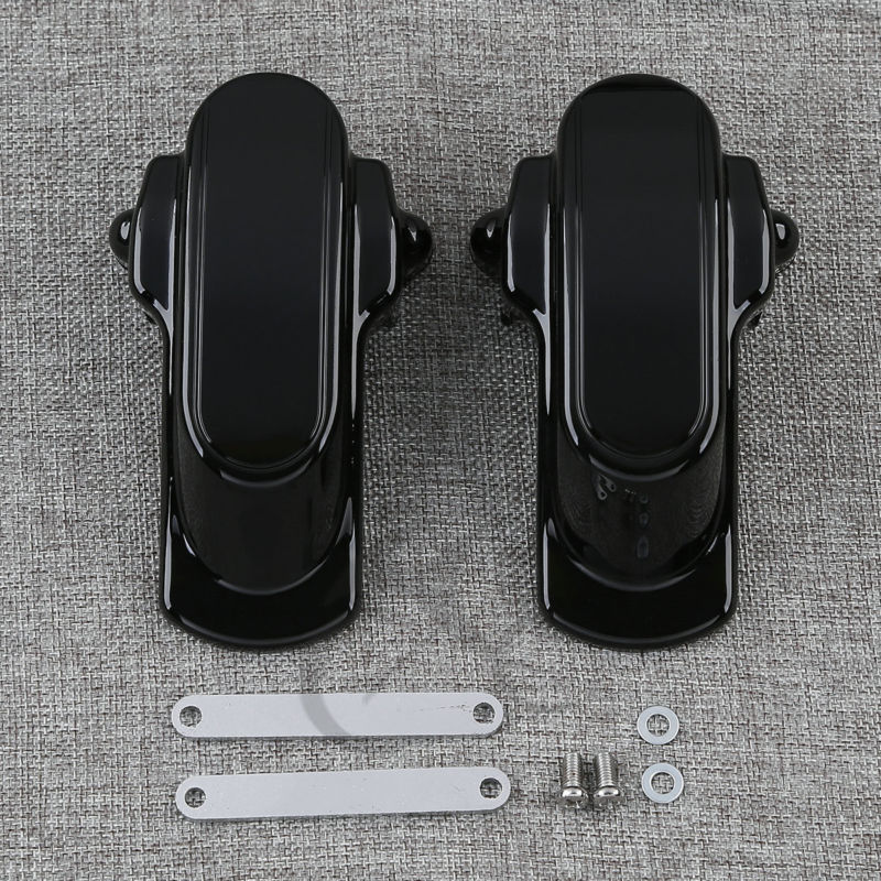 Rear Frame Axle Covers Kit For Harley Dyna Low Rider FXDL Street Fat Bob Wide Super Glide Custom FXDB FXDI FXDWGI FXD 2006-2016 rst 001 bk black aluminum rear seat mounting tab cover for harley sportster dyna softail street glide street bob touring