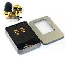 New Cool Design Skull Stereo Bass Earphone 3 5mm In ear Ear phone for Mp3 Mp4