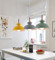 Minimalist restaurant four pendant lighting dining room kitchen bar glass light meal