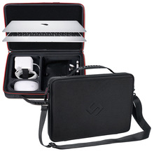 Smatree Hard Bag Carry Case for Apple Macbook Air 13.3 inch,Macbook Pro 13 inch,12 inch with Shoulder Strap