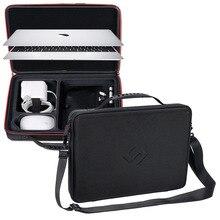 Smatree Harte Tasche Tragen Fall für Apple Macbook Air 13,3 zoll, Macbook Pro 13 zoll, 12 zoll mit Schulter Gurt