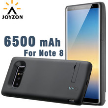 New 6500 mAh High Capacity Battery Charger Case For Galaxy Note 8 Power Bank External Backup Slim Charger Case With Kickstand
