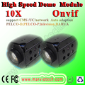 FULL HD 1080 P mini câmera PTZ IP módulo X10 Zoom Onvif RS485 RS232 a vigilância cctv sistema de segurança, frete grátis