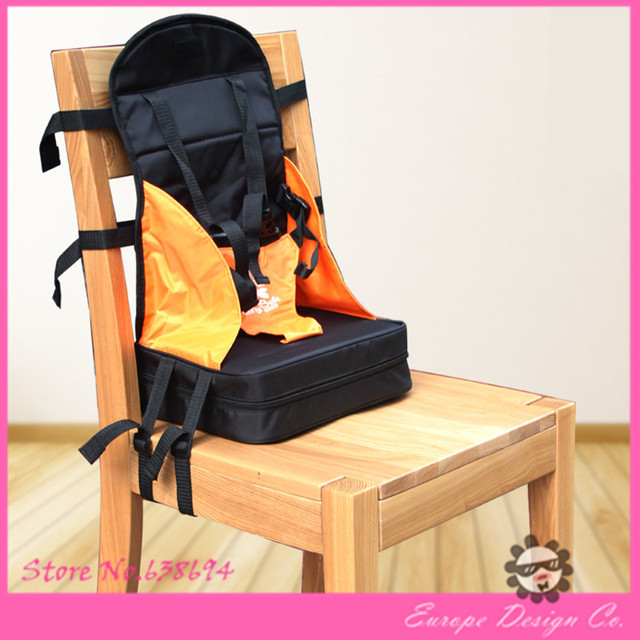 Portable Baby Seat Toddlers High Dining Baby Chair Booster Fold Up Comfortable  Seat Cushion Bag