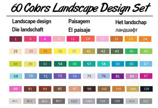 60 Landscape Set