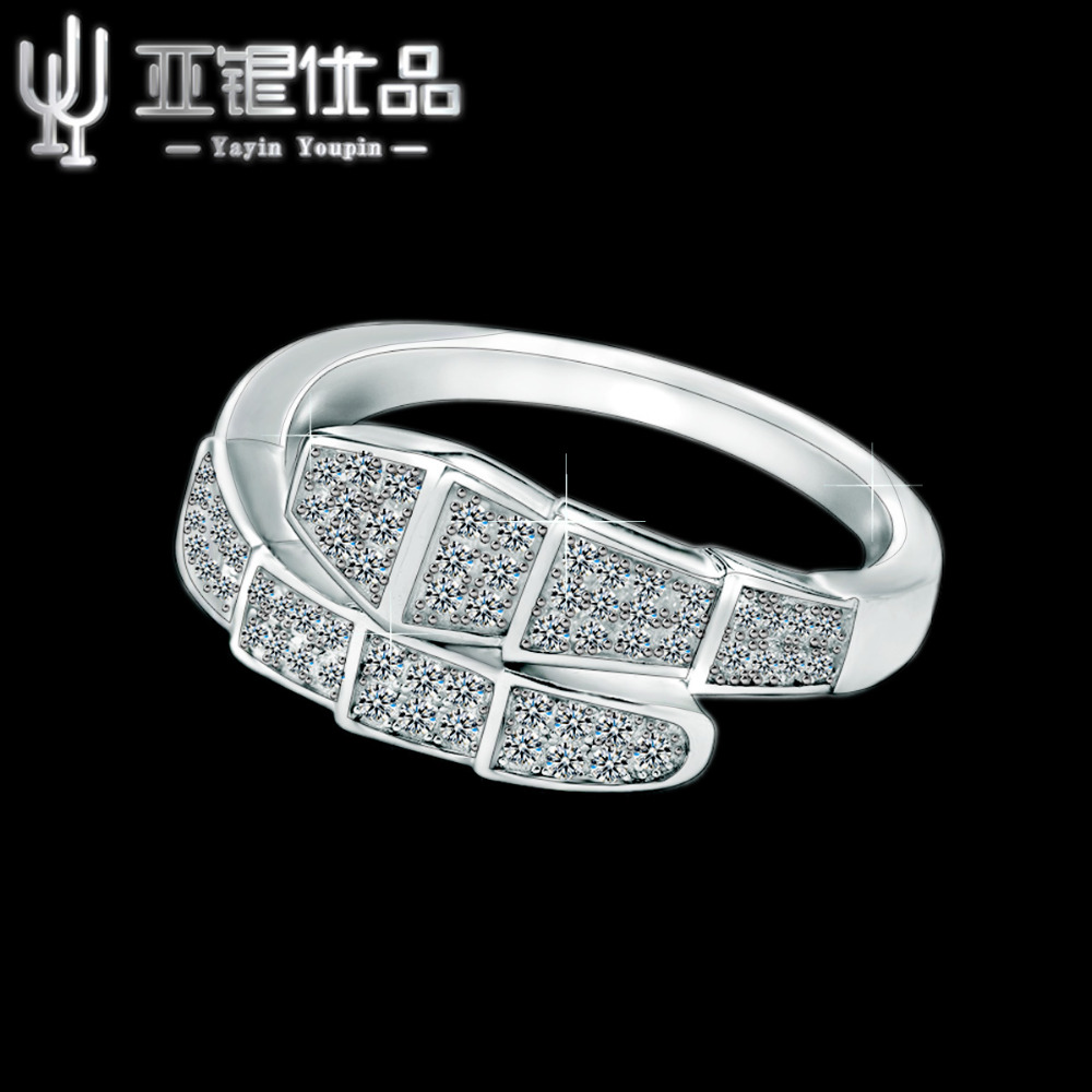 925 sterling silver exquisite atmosphere top design authority of the relevant departments to test the engagement ring preferred