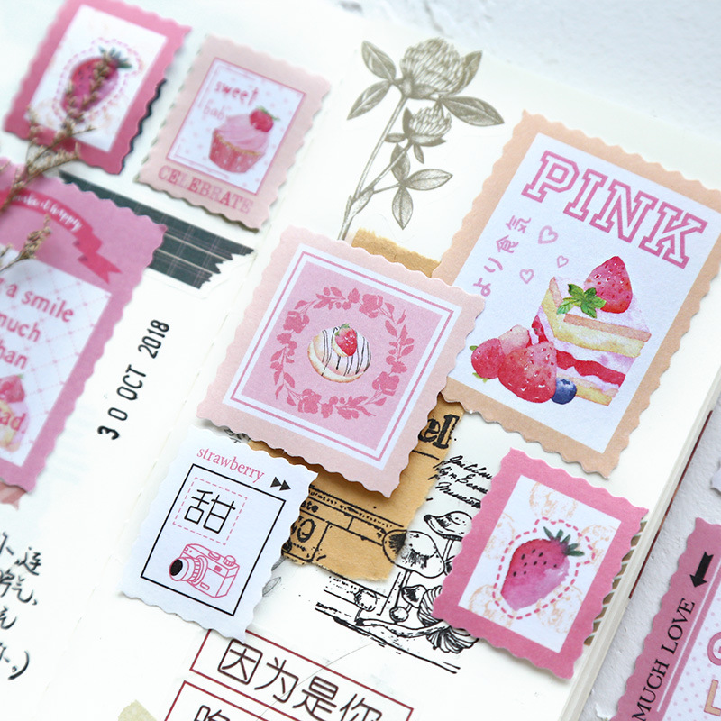 40pcs Kawaii Stationery Stickers Stamp impression Diary Planner Decorative Mobile Stickers Scrapbooking DIY Craft Stickers40pcs Kawaii Stationery Stickers Stamp impression Diary Planner Decorative Mobile Stickers Scrapbooking DIY Craft Stickers