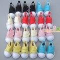 Бесплатная доставка 5 см кукла обувь Джинсы Холст Мини Игрушки Shoes1/6 Bjd Для Российских Тильда Куклы Sneackers