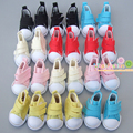 Free shipping 5cm doll shoes Denim Canvas Mini Toy Shoes1/6 Bjd For Russian Tilda Doll Sneackers