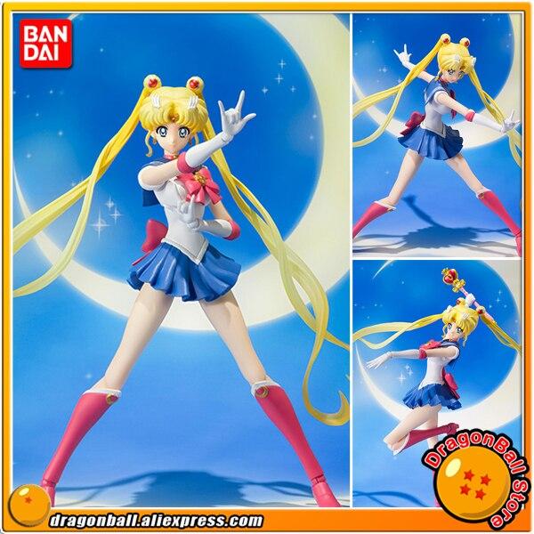 Anime Pretty Guardian Sailor Moon Crystal Original BANDAI Tamashii Nations S.H.Figuarts / SHF Action Figure - Sailor Moon pretty guardian sailor moon original bandai s h figuarts shf [tamashii web exclusive] action figure sailor uranus