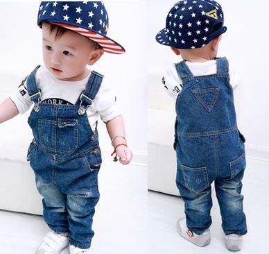 de33d54147 fashion baby bib jeans jumpsuit pants boy overalls calca jeans jardineira  jeans infantil baby girl jeans bolsa de bebe-in Pants from Mother   Kids on  ...