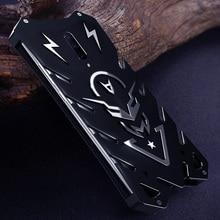 Oneplus 7 pro case Metal fundas Rigid neat for Powerful Shockproof oneplus Zimon iron body coque