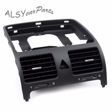 цена на YIMIAOMO OEM 1K0 819 728 F Black Front Central Dashboard Air Outlet Vent For VW Jetta MK5 Golf MK5 GTI 5 MK5 Rabbit 1K0819728F