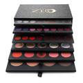2016 Luxury 6 Layered Cosmetic Eyeshadow Palette Pro 134 Full Color Shimmer Matte Eyeshadow Blush Lipgloss Makeup Set Kit