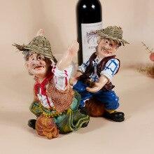 Женские туфли-лодочки Смолы Рисунок ремесло фермеров винный стеллаж для выставки товаров индивидуального винный шкаф украшения дома