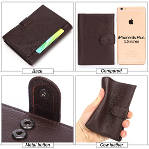 GENODERN Модный Новый чехол для паспорта для мужчин большой функциональный мужской кошелек с держателем для паспорта портмоне мужской Органайзер кошельки