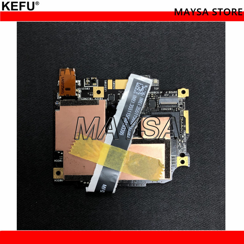 Original Mainboard for Asus ZenFone 6 A601CG A600CG 2G 32G Motherboard Motherboard higher performance стоимость