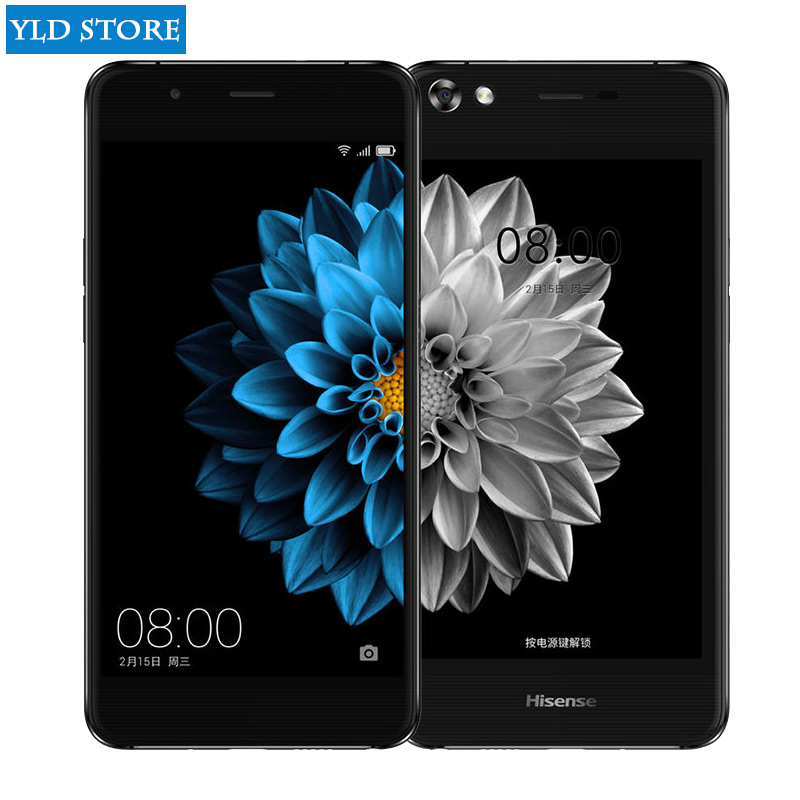 US $260 99 |Hisense A2 pro S9 double screen mobile phone LTE 5 5 4G RAM 64G  ROM Double sided 2 5D curved fingerprint 5 2 ink screen -in Mobile Phones