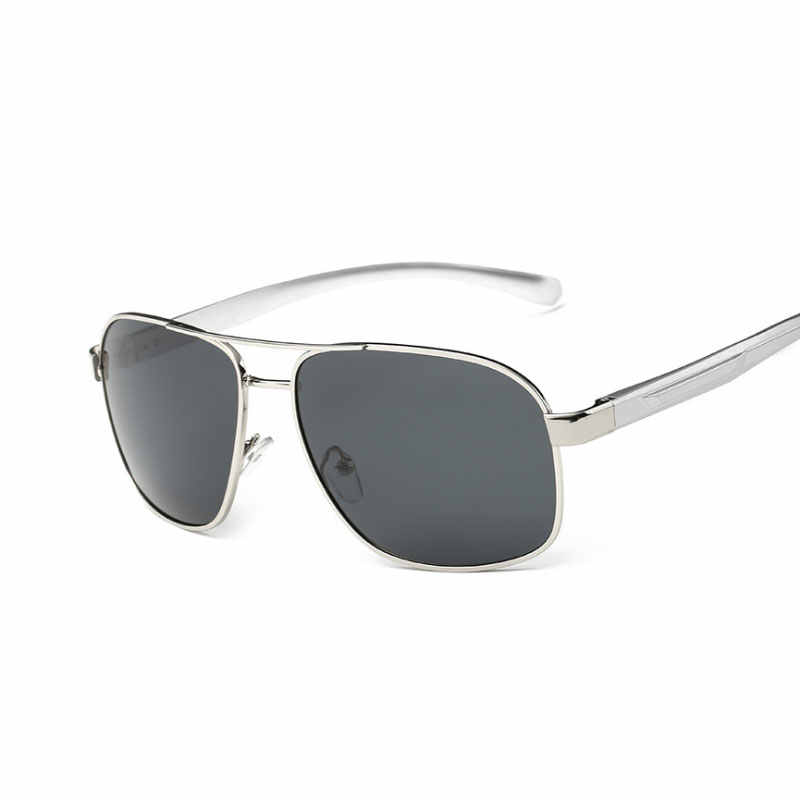 3704fa237209e Aluminum Magnesium Brand New Polarized Men s Sunglasses Police Sun Glasses  R Men Driving Goggle Eyewear B