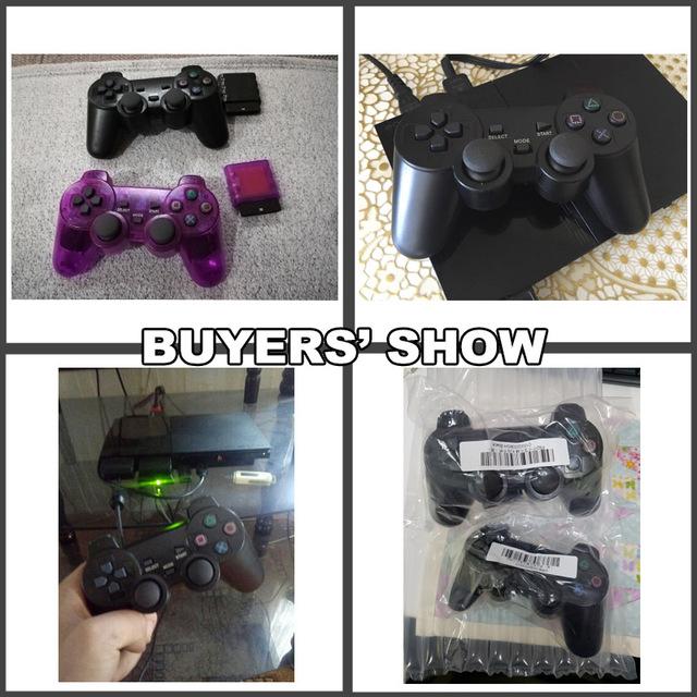 Bezprzewodowy pad do gier dla Sony PS2 kontroler dla Playstation 2 joysticka konsoli podwójne wibracje Shock Joypad bezprzewodowy Controle