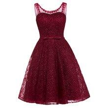 Коктейльное платье с аппликацией Dressv темно-синее Короткое мини-платье трапециевидной формы с v-образным вырезом без рукавов Короткие коктейльные платья для девушек