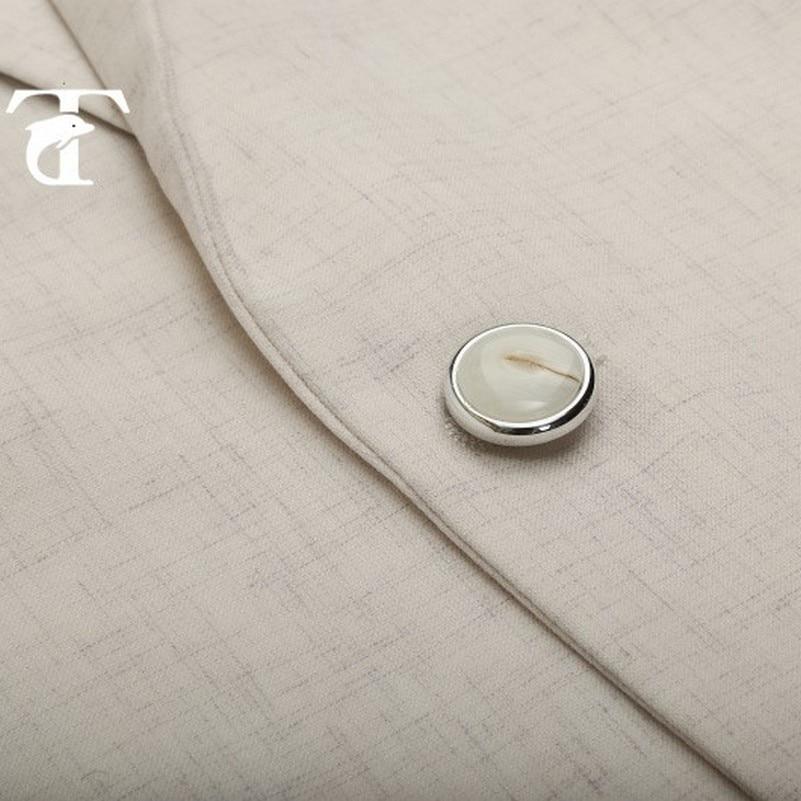 Costume Mode Loisirs Veste Masculin Bouton Un De Vestes Pour D'affaires 2017 Homme Décontracté Blanc Beige Lin Manteau Hommes BWoerdCxQ