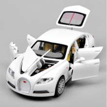 New Pattern Hot Sell 1:32 Bugatti Auto Model Alloy Die Casting Series Return Childrens Toys Gift Show Cheap Free Mail