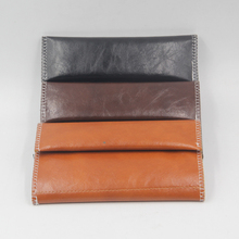 1pc PO Leather Tobacco Pouch Bag Portable Cigarette Rolling Pipe Case Wallet Tip Paper Holder