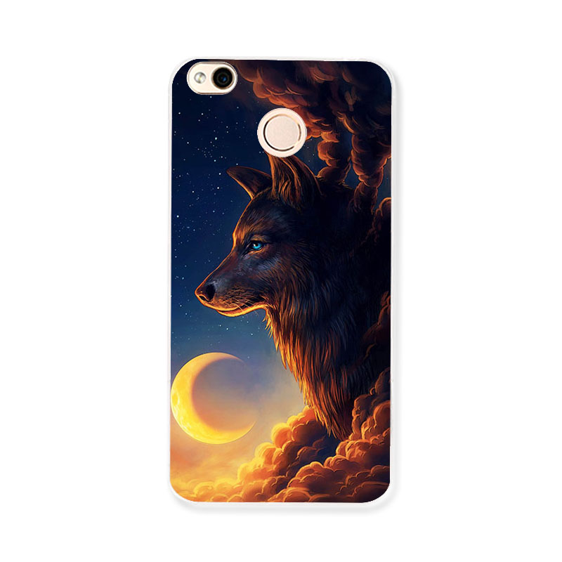 Soft TPU Case For Xiaomi Redmi 4X Cases Silicone Cover For Xiomi Redmi Note 4X 4A Redmi4x Cases DIY Painted Cover Coque in Fitted Cases from Cellphones Telecommunications