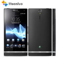 LT26 100% Original Sony Ericsson Xperia S LT26 LT26i 4.3inch 12MP Cell Phone 3G WIFI GPS Android Phone Free shipping