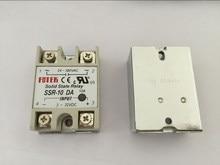 5 قطعة SSR10DA SSR 10DA الصانع 10A ssr التتابع ، المدخلات 3 32VDC الناتج 24 380VAC