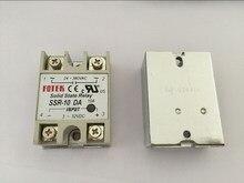 5PCS SSR10DA SSR 10DA יצרן 10A ssr ממסר, קלט 3 32VDC פלט 24 380VAC