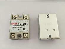 5PCS SSR10DA SSR 10DA Manufacturer 10A ssr relay,input 3 32VDC output 24 380VAC