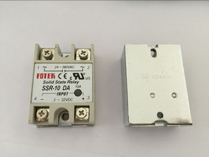 Image 1 - 5PCS SSR10DA SSR 10DA Manufacturer 10A ssr relay,input 3 32VDC output 24 380VAC