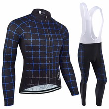 BXIO Invierno Maillot Ciclismo Winter Thermal Fleece Cycling Sets Autumn Bicycle Clothes Quality Long Sleeve Bike Jersey 096