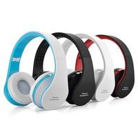 Kobwa Foldable Wireless Headphones Handsfree Stereo Bluetooth Headset Cordless Earphone For Computer Pc Head Phone