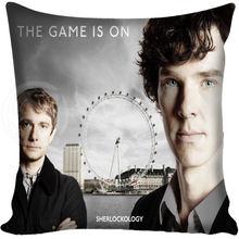 Sherlock Holmes Pillow Case