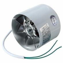 Gut 4 Zoll Inline Führung Fan Metall 220 V 20 Watt 2800R/Min Kanal Booster Vent  Fan Auspuff Lüftungskanal Fan Zubehör 10x7,5 Cm