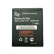 New High quality battery 2000mAh for Fly IQ4405 IQ4413 BL7203 7.4Wh battery