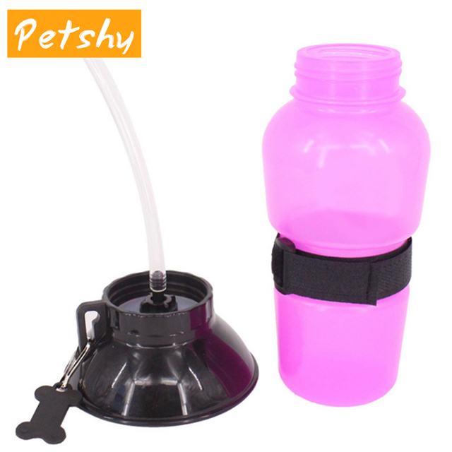 Portable Pet Drinking Water Bottle and Bowl For Travel and Outdoor Living