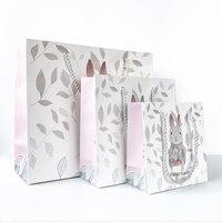 20pcs Mori simple gift bag high end gift box paper bag bag handbag birthday holiday lover gift handbag