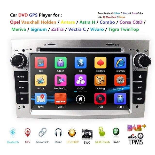 "7 ""HD Touchscreen Auto DVD Player GPS Navigation System Für Opel Zafira B Vectra C D Antara Astra H G Combo SD BT Radio StereoDAB"