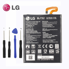 NEW Original LG BL-T32 Internal Battery for LG G6 G600L G600S G600K G600V H870 H871 H872 H873 LS993 US997 VS988 3300mAh(China)