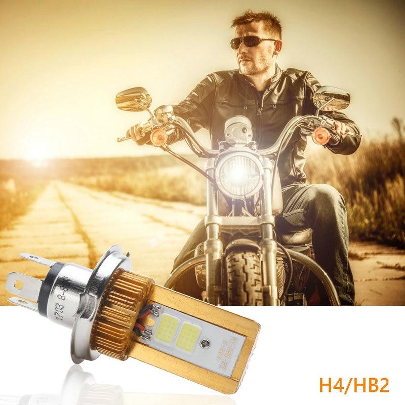 2018 rushed led car h4 moto phare ampoules cob 8 80 v. Black Bedroom Furniture Sets. Home Design Ideas