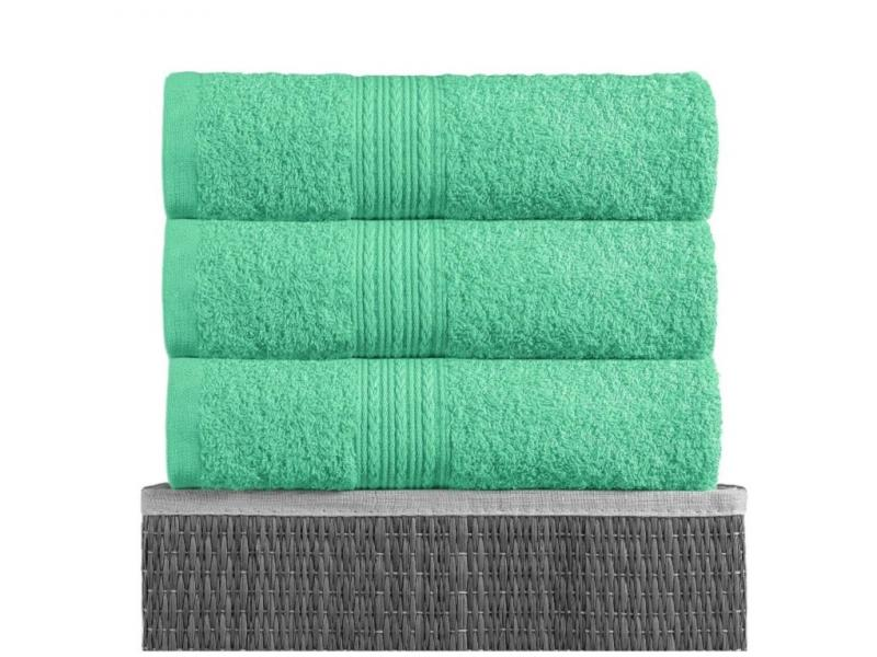 Towel for body BAYRAMALY, 50*90 cm, light green face towel rosеberry citazione 50 90 cm light green