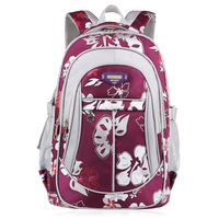 Jorgeolea New Fashion Canvas Printing Daypack School Bag For Teenage Nylon Leisure Style Backpack Female Male