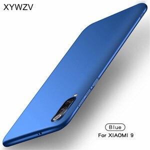 Image 2 - Xiao mi mi 9 przypadku Silm, odporna na wstrząsy pokrywa luksusowe Ultra cienka, gładka, twardy telefon obudowa do Xiaomi mi 9 tylna etui na Xiaomi mi 9