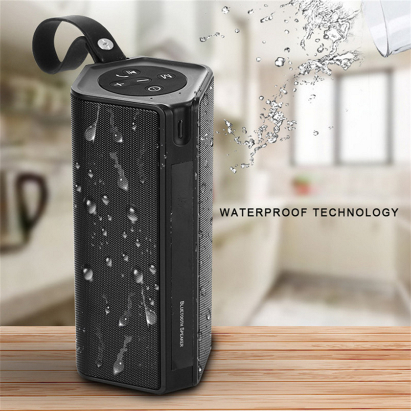 Outdoor Portable Bluetooth Speaker Wireless Waterproof Bass Loud Speaker 3D Hifi Stereo Subwoofer Support TF Card FM Radio