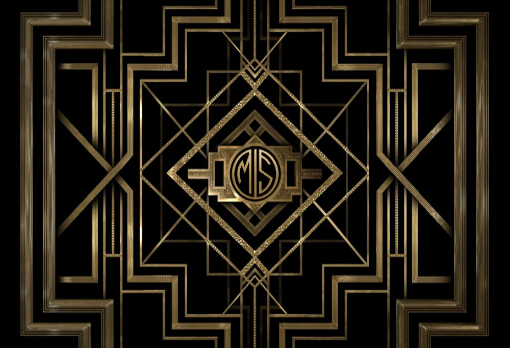 Dark Gold Color Great Gatsby backdrops polyester or Vinyl cloth High quality Computer print wall photo studio background paper crease simple colors backgrounds vinyl cloth computer printed wall backdrops